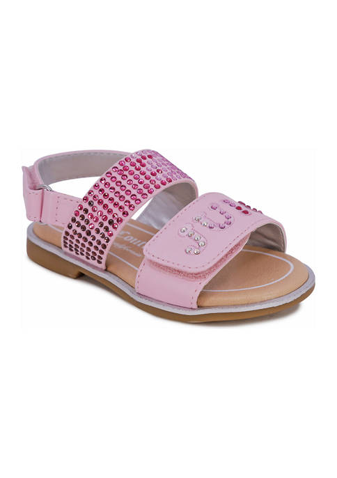 Juicy Couture Toddler Girls Lil Ontario Slingback Sandals