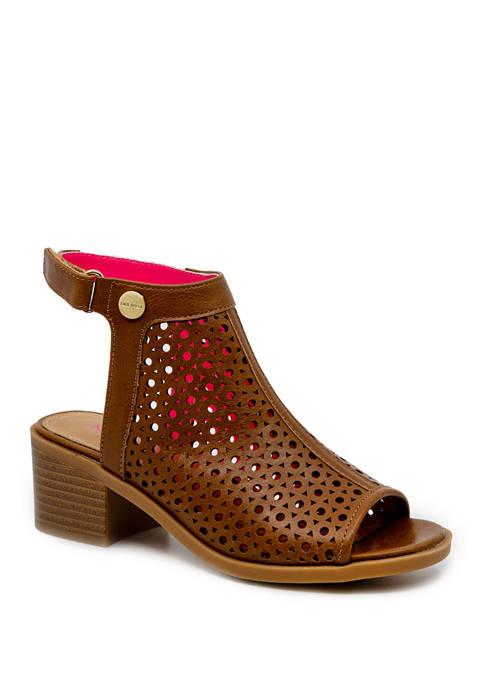 Nine West Youth Girls Nile Peep Toe Sandal