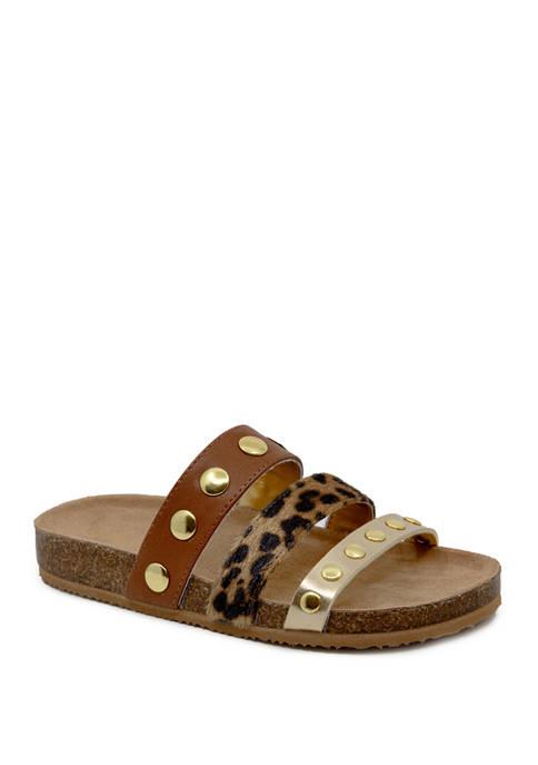 Nine West Youth Girls Noa Slide Sandals