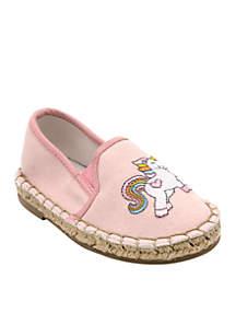 Lil Unicorn Espadrille Shoe