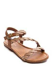 074c656b2 ... Rampage Toddler Girls Tait Twist Sandals