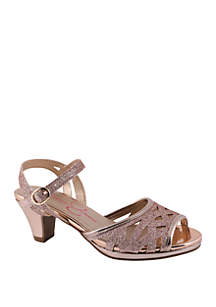 ... Jessica Simpson Youth Girls Bettina Dress Sandals