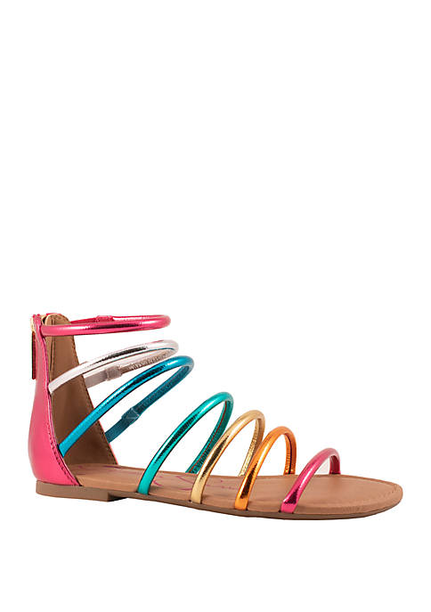 Jessica Simpson Youth Girls Comet Strappy Sandals