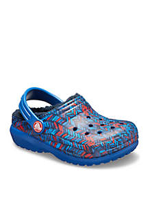 Girls Classic Lined Graphic Clog - Toddler/Youth