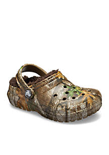 Boys Classic Realtree Edge Lined Clog - Toddler/Youth