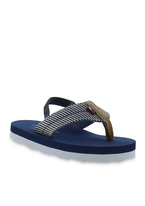 c03590ba979c8 Tommy Hilfiger Stephan Flip Flop Sandal - Boy Toddler Sizes