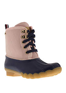 Girls Youth Pink Megan Duck Boot