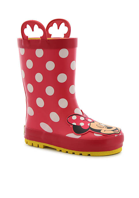 Western Chief Toddler Girls Minnie Mouse Rain Boots