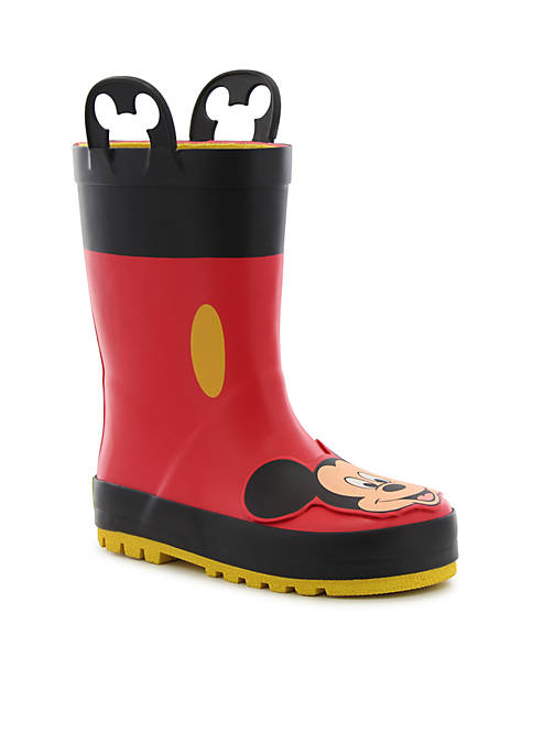 Mickey Mouse Rain Boot - Boy Toddler/Youth Sizes