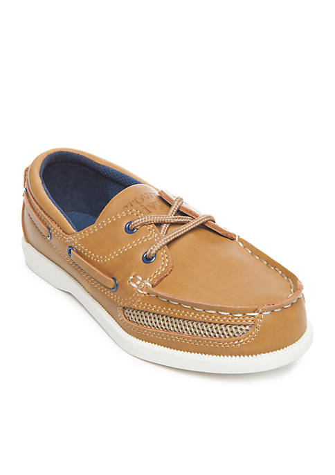 Toddler/Youth Boys Captain Boat Shoes