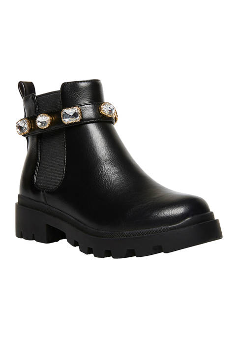 Youth Girls Amulet Jewel Booties