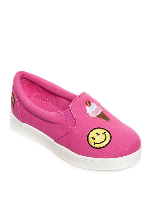 MIA Bubblegum Emoji Sneaker Toddler Girls