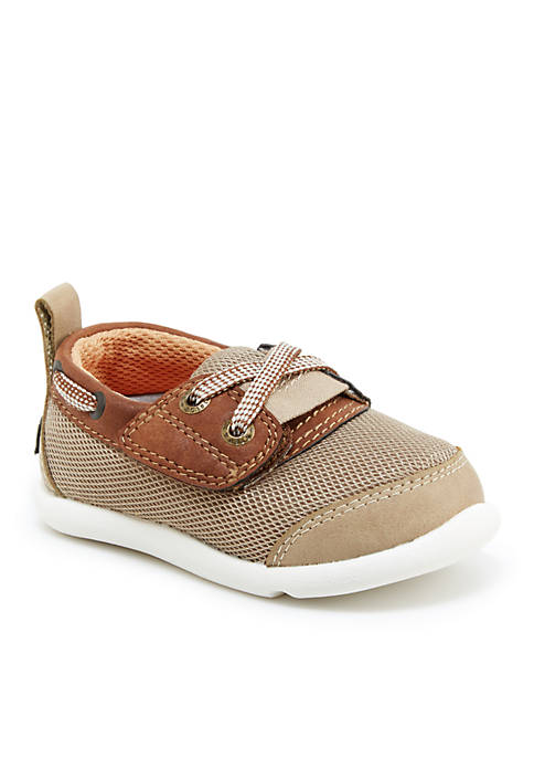 Step & Stride Gallas-P Boat Shoe-Boy Infant/Toddler Sizes