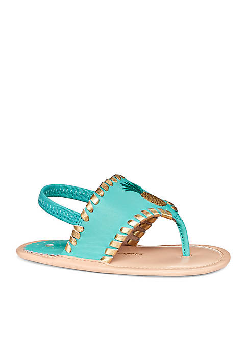Jack Rogers Baby Pineapple Sandals