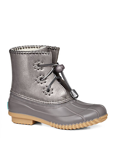 Jack Rogers Miss Chloe Metallic Duck Boot