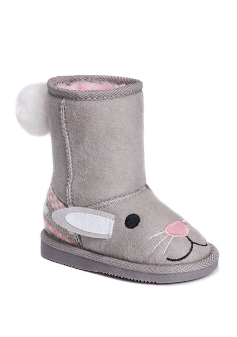 MUK LUKS® Youth Girls Bonnie Bunny Boots
