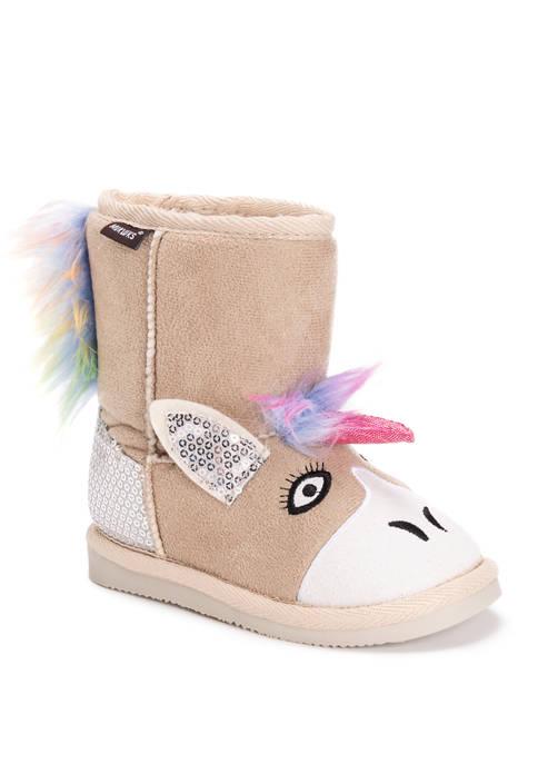 MUK LUKS® Kids Luna Unicorn Boots