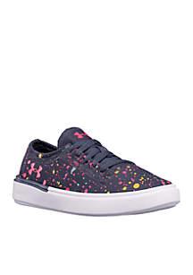 Pre-School UA KickIt2 Splatter Sneaker