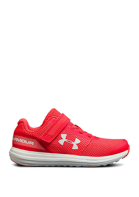 American Coin Treasures Youth Girls UA Surge Sneakers