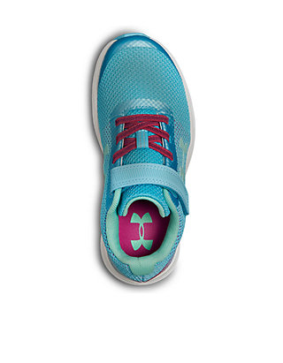 6251ad5f ... Under Armour® Toddler/Youth Girls UA GPS Surge Prism Sneakers ...