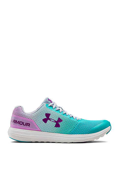 Under Armour® Youth Girls Surge RN Prism Sneakers