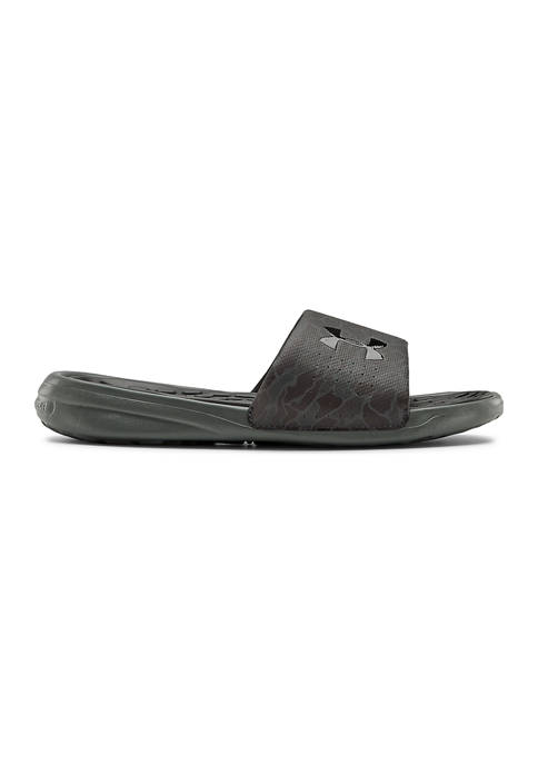 Under Armour® Youth Boys Playmaker Slide Sandals