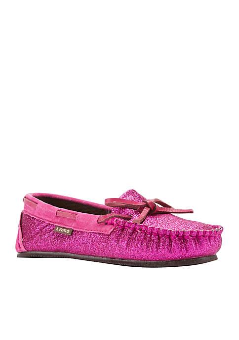 LAMO Footwear Girls Sabrina Moccasin