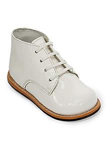 Croco Leather Walking Shoe - Infant/Toddler