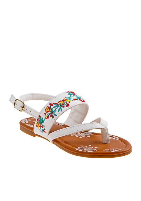 Josmo Girls Floral Sandals