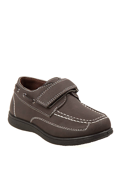 Josmo Toddler/Youth Boys Slip On Boat Shoe