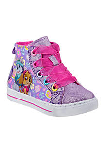 Toddler Girl's Paw Patrol High Top Canvas Sneakers