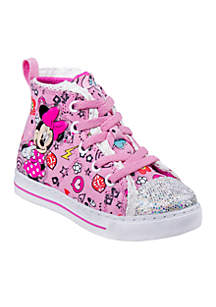 Toddler Girls Minnie Mouse High Top Sneakers