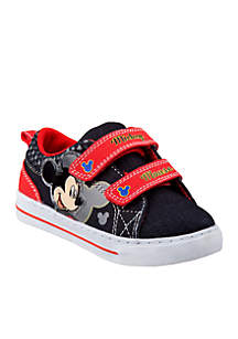 Toddler Boys Mickey Mouse Canvas Sneaker