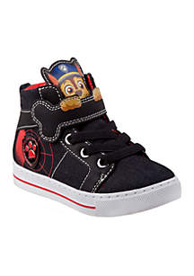 Toddler Boys Paw Patrol High Top Canvas Sneaker
