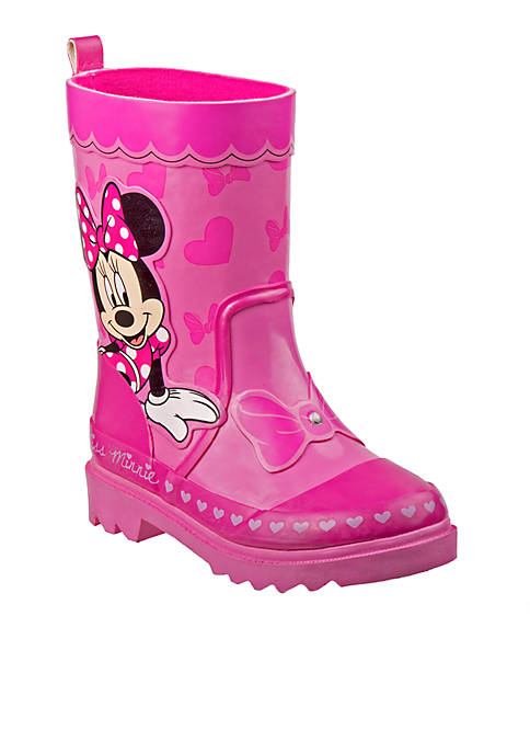 Josmo Toddler Girls Minnie Mouse Rain Boot Belk