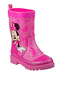 Toddler Girls Minnie Mouse Rain Boot