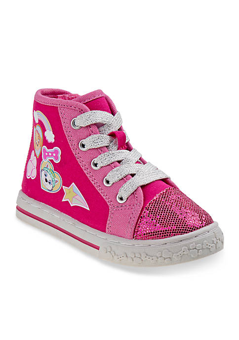 Josmo Paw Patrol Hi Top Canvas Sneaker Girls