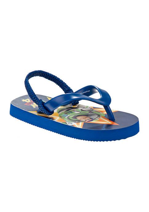Toddler Boys Toy Story Flip Flops