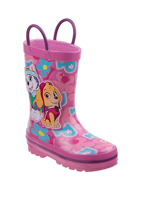 Josmo Toddler/Youth Girls Nickelodeon Paw Patrol Rain Boots