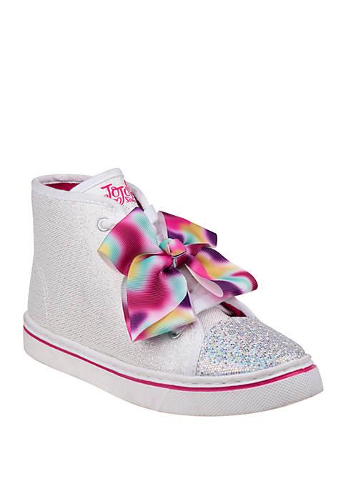 Josmo Youth Girls Nickelodeon Jojo Siwa Canvas Sneakers
