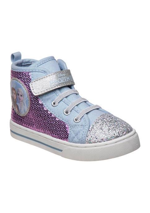 Disney® Toddler Girls Frozen High Top Sneakers