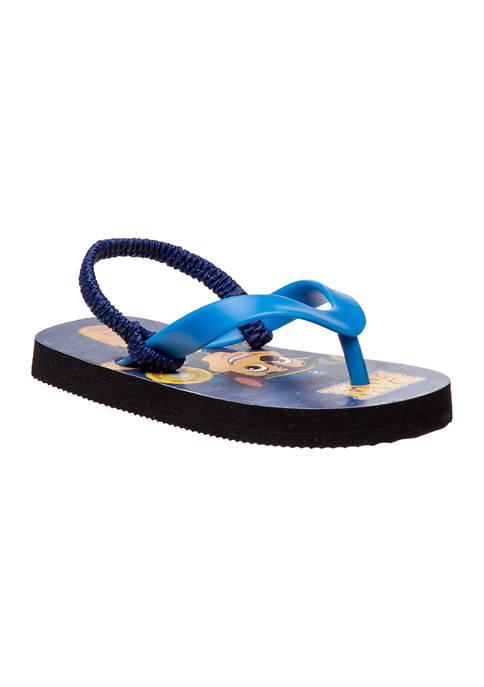 Toddler Boys Paw Patrol Flip Flops