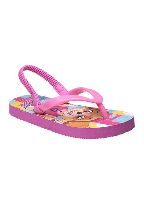 Nickelodeon™ Toddler Girls Paw Patrol Flip Flops