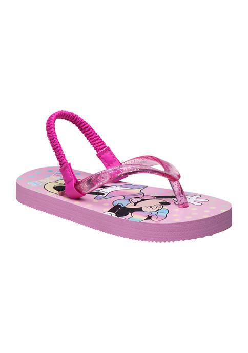 Disney® Toddler Girls Minnie Mouse Flip Flops