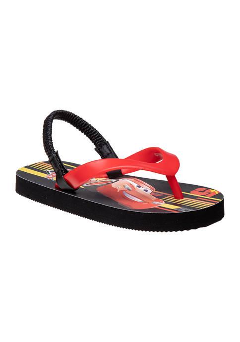 Disney® Toddler Boys Cars Flip Flops