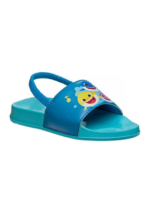Josmo Toddler Boys Baby Shark Slide Sandals