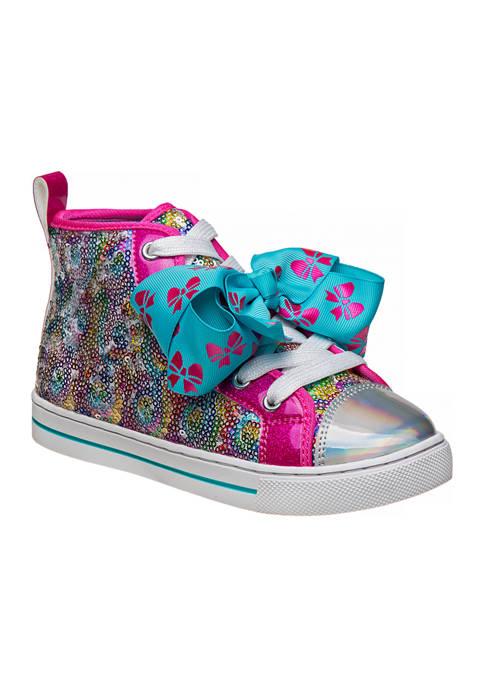 Youth Girls Jojo Siwa Hi-Top Canvas Sneakers