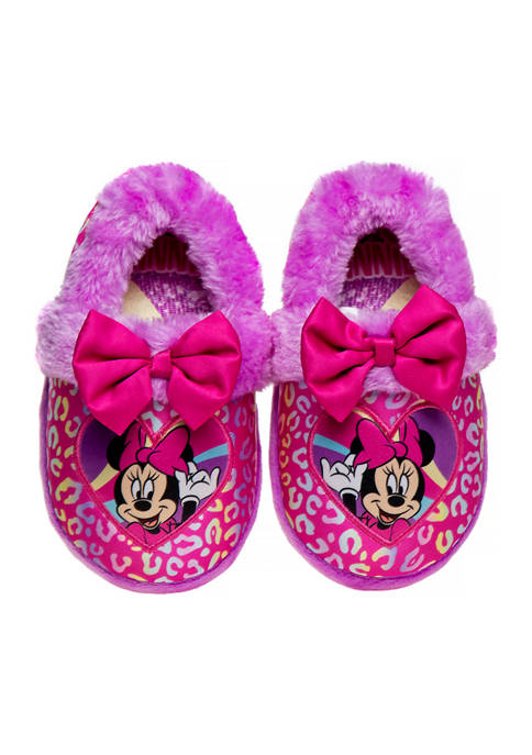 Disney® Toddler Girls Minnie Mouse Slippers