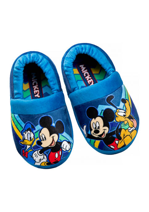 Disney® Toddler Boys Mickey Mouse Slippers