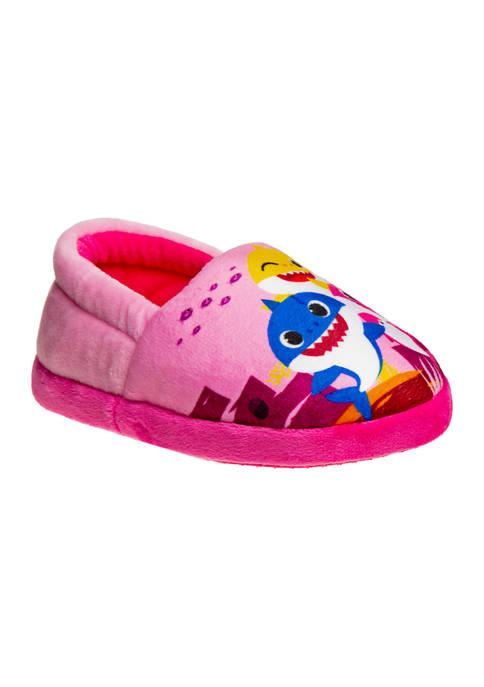 Josmo Toddler Girls Baby Shark Slippers